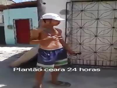 Bandits beat man in slum