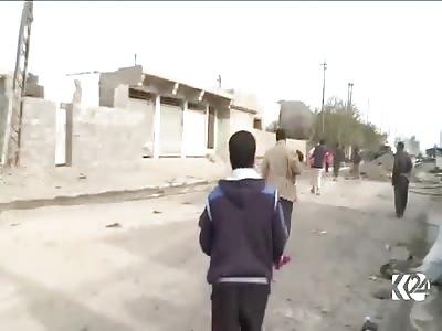 War in syria very sad
