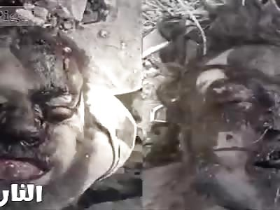 Daesh terrorists burned burned butchered