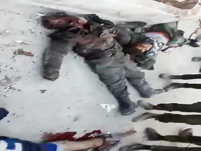 Mercenaries killed in Aleppo
