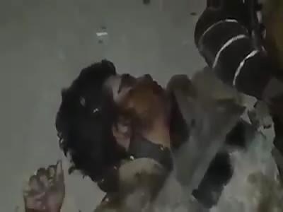 Soldiers makes jokes with terrorist daesh dead 1