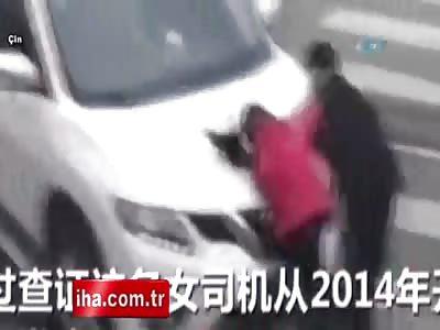 Couple deliberately run over