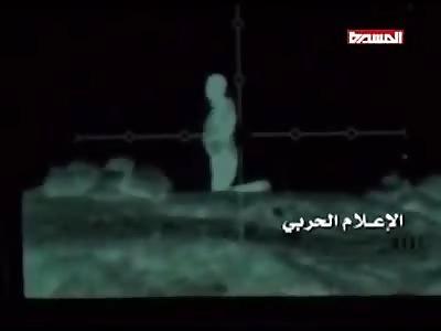 Night sniper killing several enemies