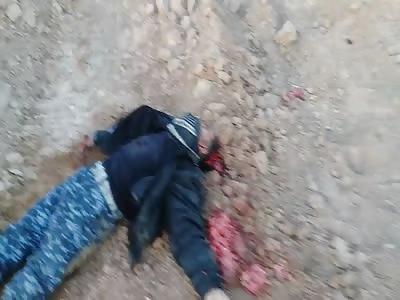 Despair of soldiers seeing Iraqi army dead