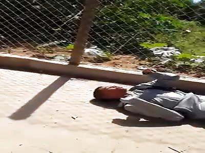 Child kicks head of friend and goes into convulsion
