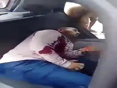 Two men die shot one sighs last seconds