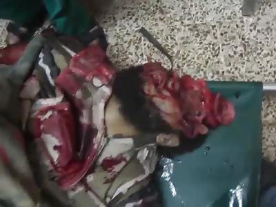 soldier destroyed in batle