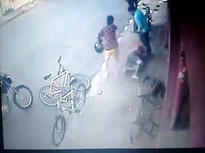 brutal execution in leme são paulo from behind