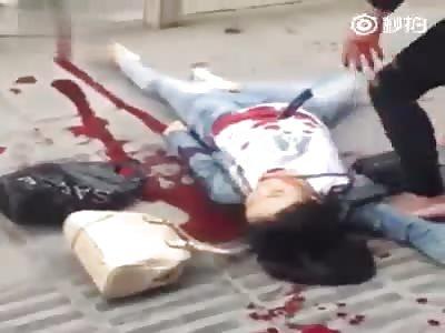 Woman injuried
