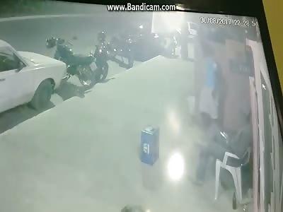 man being executed in brasil