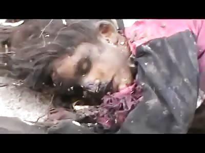 HORRIFIC Massacre Carried Out By The Assad Brigades0