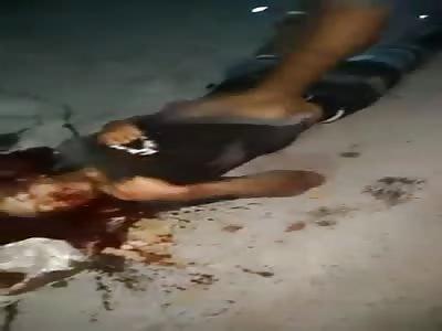 man dies after being brutally beaten