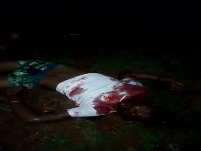 One more massacre in Brazil one agonizes last seconds