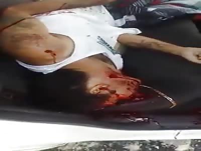 Man brutally murdered