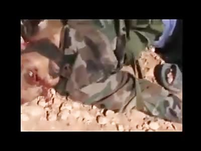 Dead Syrian Army Men In Aleppo0%(