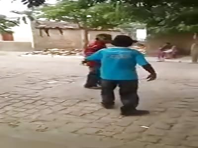 Man die in the fight