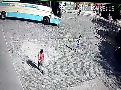 sad : kid hit by bus