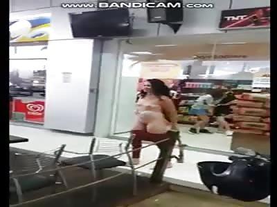 (Full video) nake woman fighting