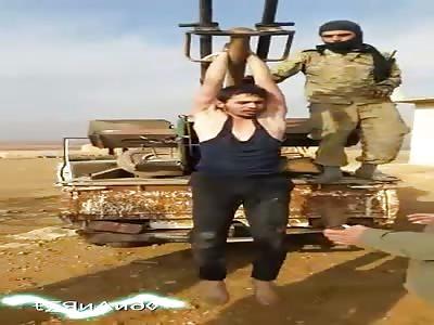 Soldier tortured