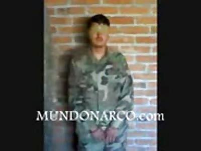 Video of execution to Chapo Guzmán hitman the Sinaloa Cartel in Durango