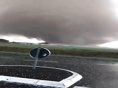 Tornado in Viersen Germany
