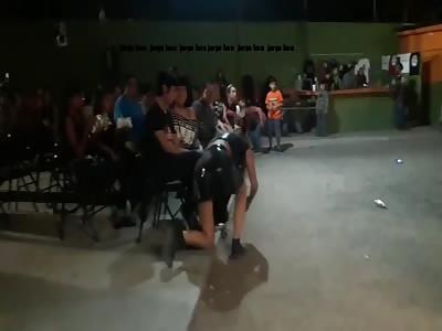 Mexican Wrestler Kills Woman