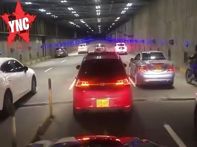 Mercedes Benz accident