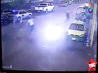 goons beat man to death