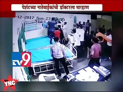 Hospital Doctor beaten half to death