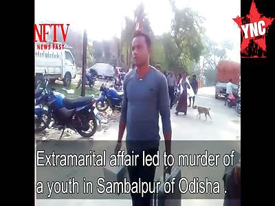 Extramarital affair leaves a youth dead