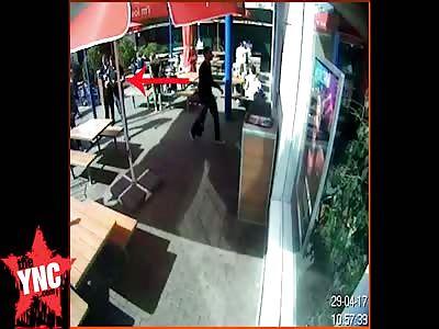 Ukrainian man kills man with one punch