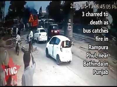3 burn alive on a coach