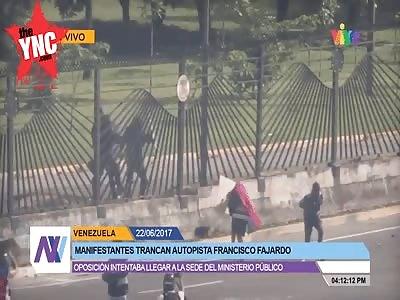 shot dead live on venezuelan tv
