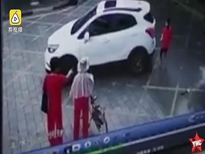 electric car kills boy