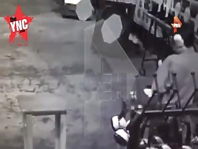 In St. Petersburg, a man  shot himself at a shooting club he died
