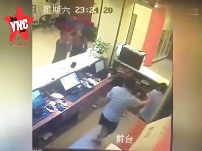 very angry customer
