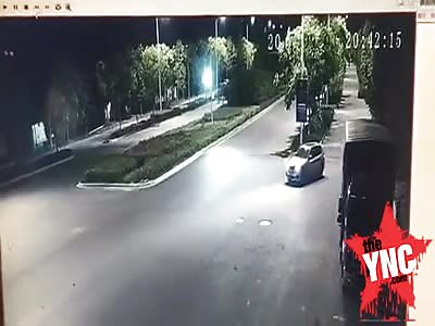 Brutal Death! cement tanker Crushed  BMW driver
