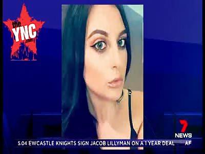 in Australia   Woman is hit  by excavator