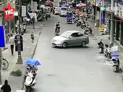 a girl nearly died in Zhejiang