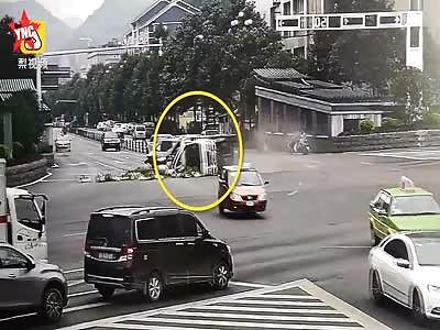 accident in  Guizhou