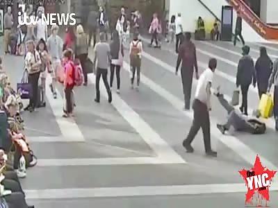 in  Birmingham England  man  assaulted a Elderly complete stranger in a motiveless attack