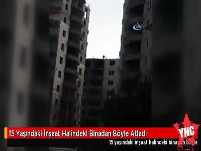 15 year old girl committed suicide in Erzurum's Palandöken district , turkey