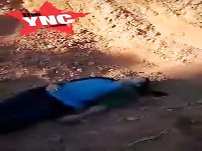 a unknown dead body found in Laos