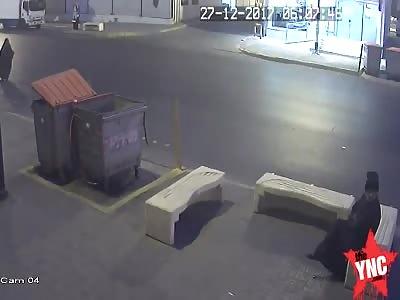 elderly dies when a van hits her in Saudi Arabia