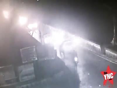 Mini bus plunges into Panchganga River At Shivaji bridge killing 13