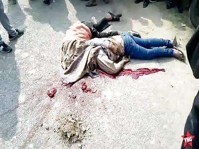 brain accident in  Godahara, Uttar Pradesh