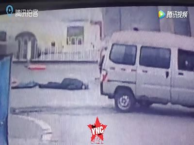 elderly killed by car in Shenyang