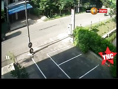 bikes collided  in Akuressa