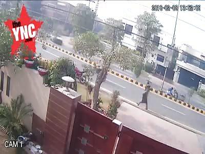 accident in  Karachi