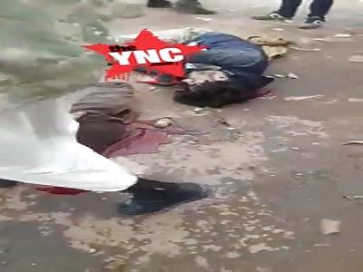 Unidentified bodies in idlib